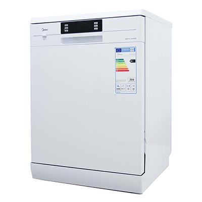 ماشین ظرفشویی ایستاده میديا مدل WQP12-1410EW
