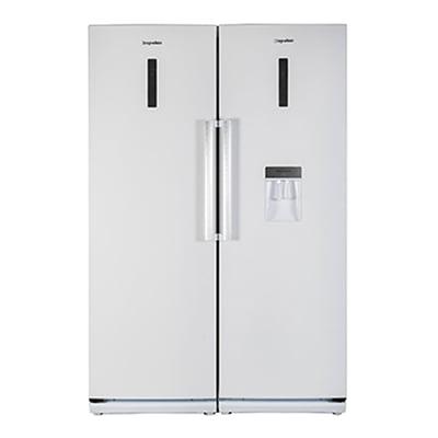 یخچال فریزر دوقلو دیپوینت مدل NR14D4I-PRO W و NF14D4I-PRO W سفید