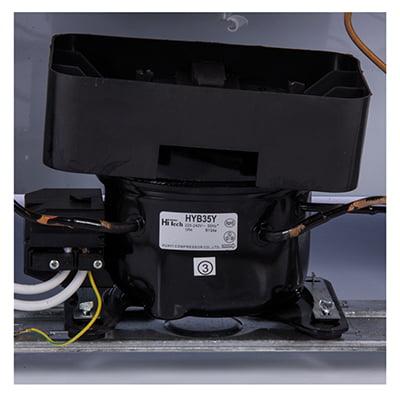 یخچال تک درب نوع I پارس مدل استاتیک PRH08631EW