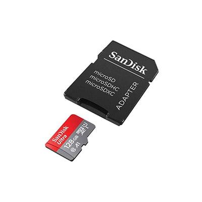 مموری میکرو اس دی  سن دیسک مدل Sandisk Micro SDHC C10 U1 100Mb/s With Adapter